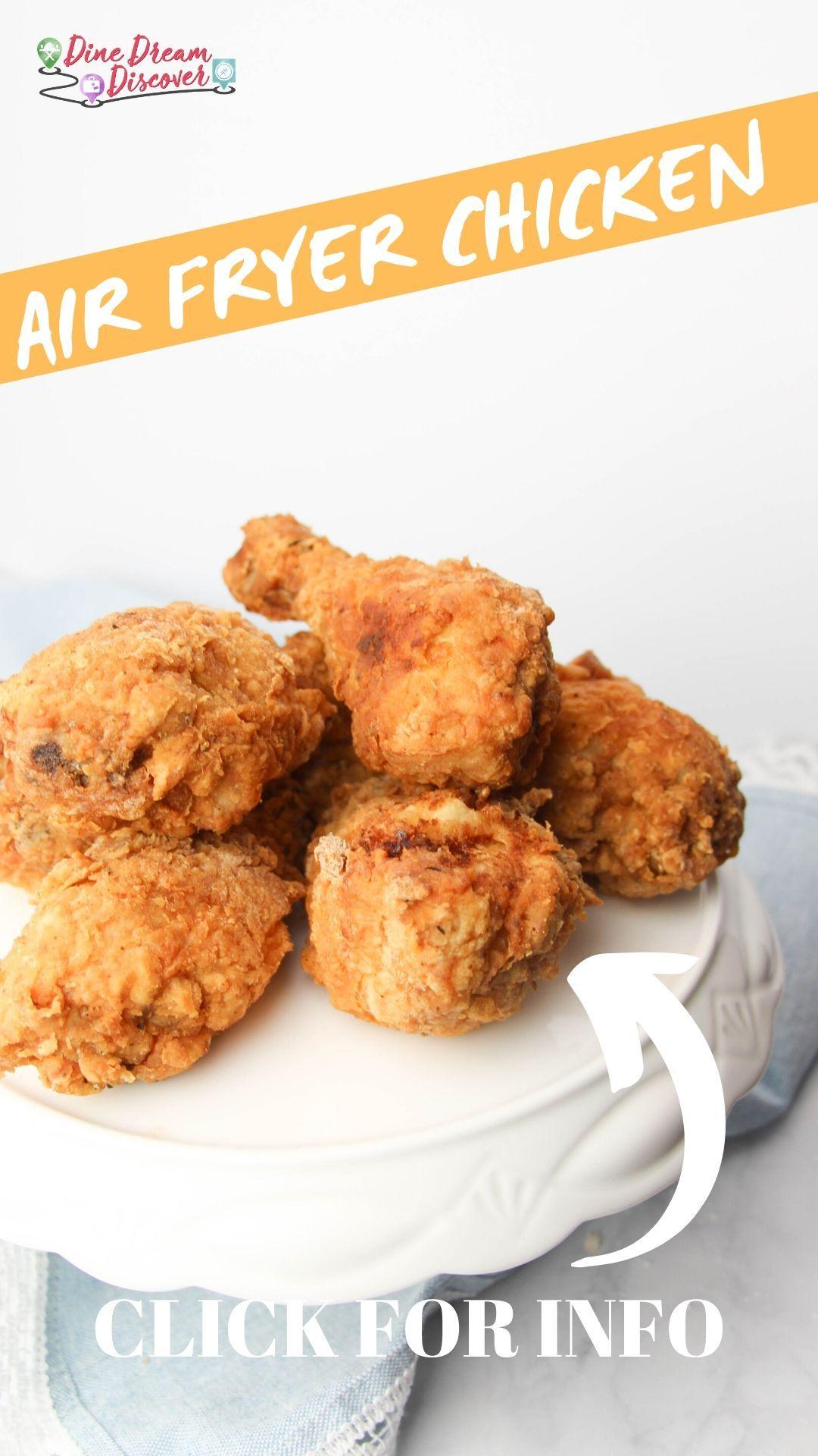 Air Fryer Fried Chicken KFC Copycat Recipe in 2020 Air