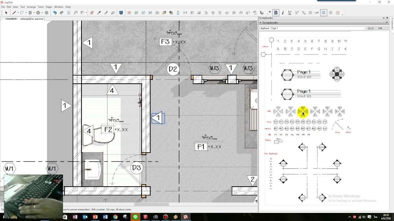 How To Make Floor Plan In Sketchup Layout Thefloors Co Sketchup