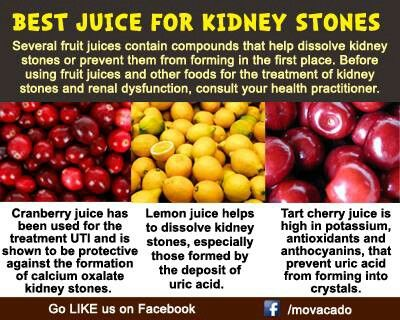 what to drink for kidney stones