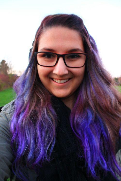 Ferushworld Tumblr Com Directions Plum Midnight Blue Hair Color Grunge Hair Dyed Hair