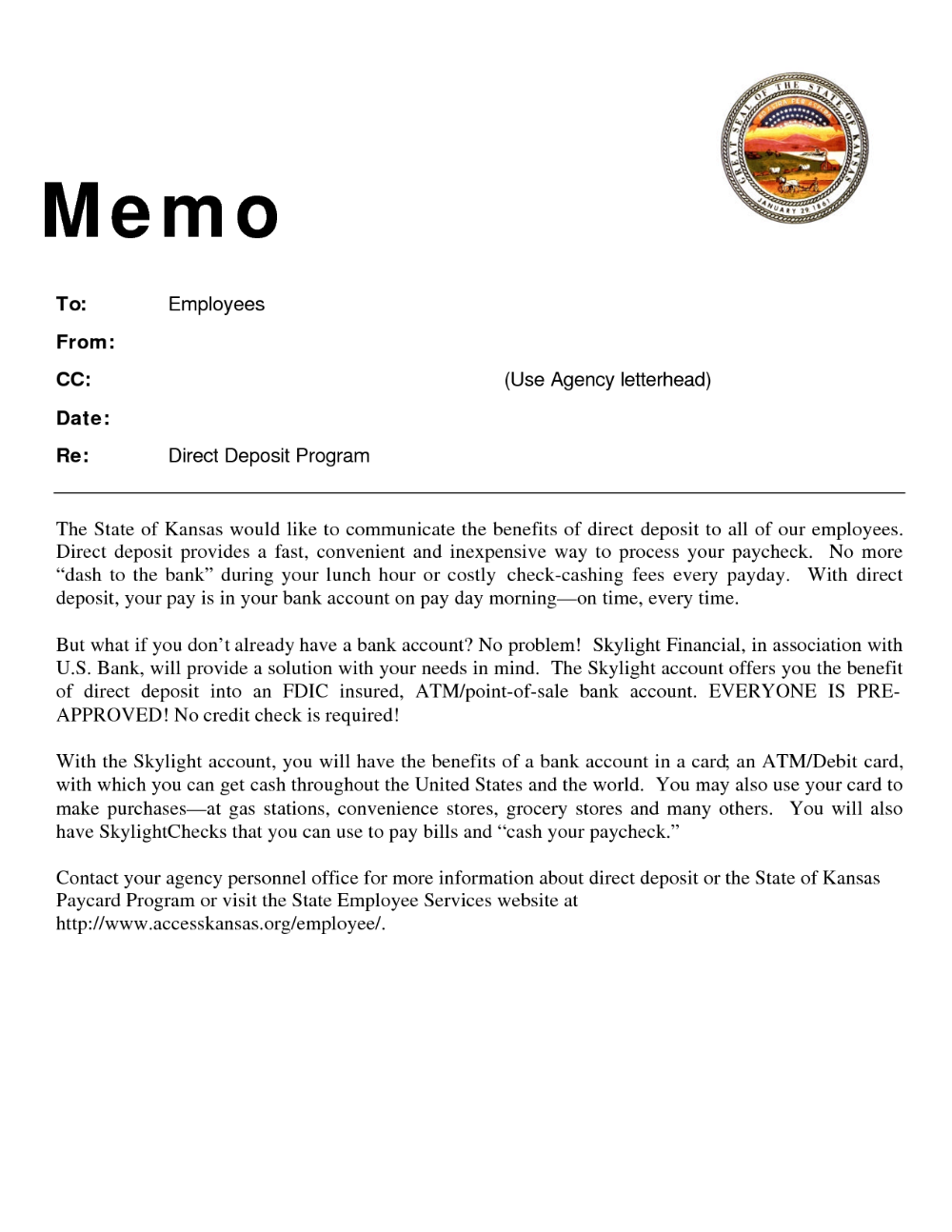 Memo Examples To Employees Pdf Memo Examples Reference Letter Business Memo