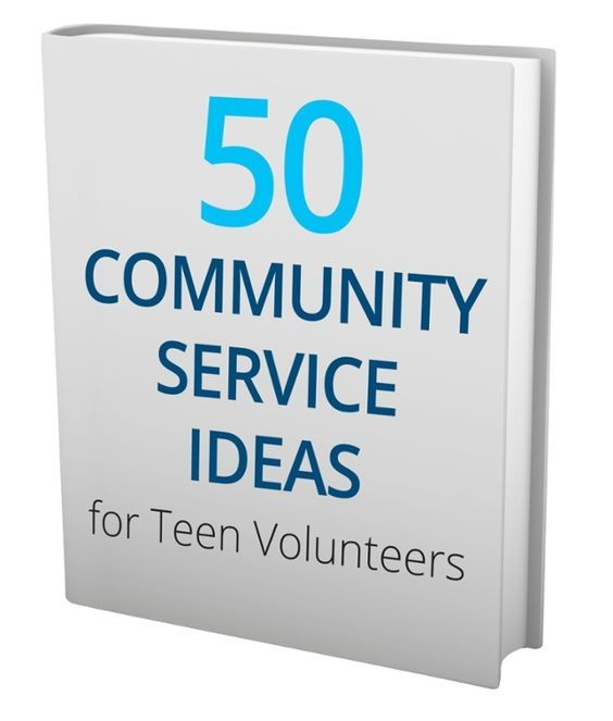 Giving back is a great way to fulfill your high school community - resume community service