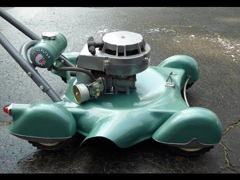 Custom Art Deco Mini Push Mower Quot Lil Scalper Finished