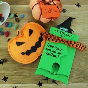 Cartes d' Halloween à fabriquer soi-même - Tête à modeler   Carte halloween, Halloween, Sorcière ...