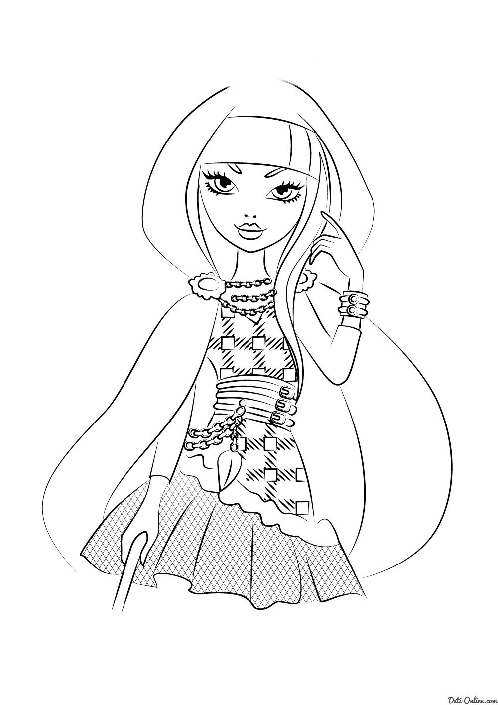 раскраска серайз худ ever after high coloring pages printables cool stuff amazing