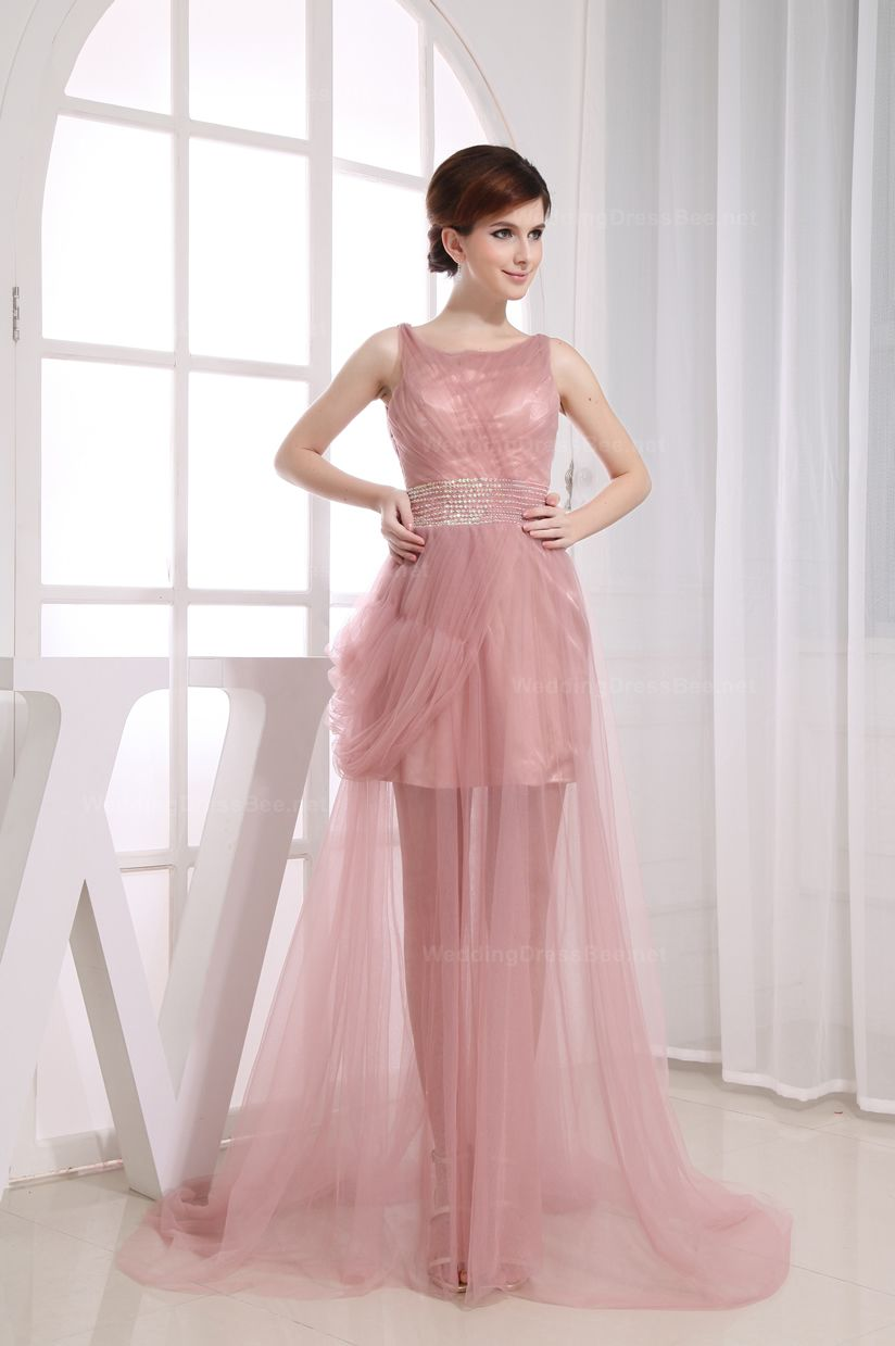 Fabulous Scoop Sheer Tulle Overlay Dress | Clothes | Pinterest ...