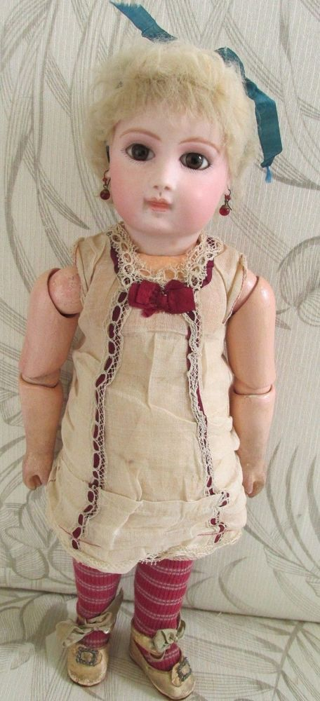Details about Antique FIRST SERIES FRENCH JUMEAU Doll, BROWN EYES-ORIGINAL FRENCH UNDERWARE #dollunderware