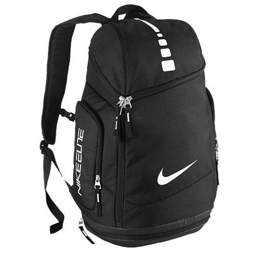black elite backpack