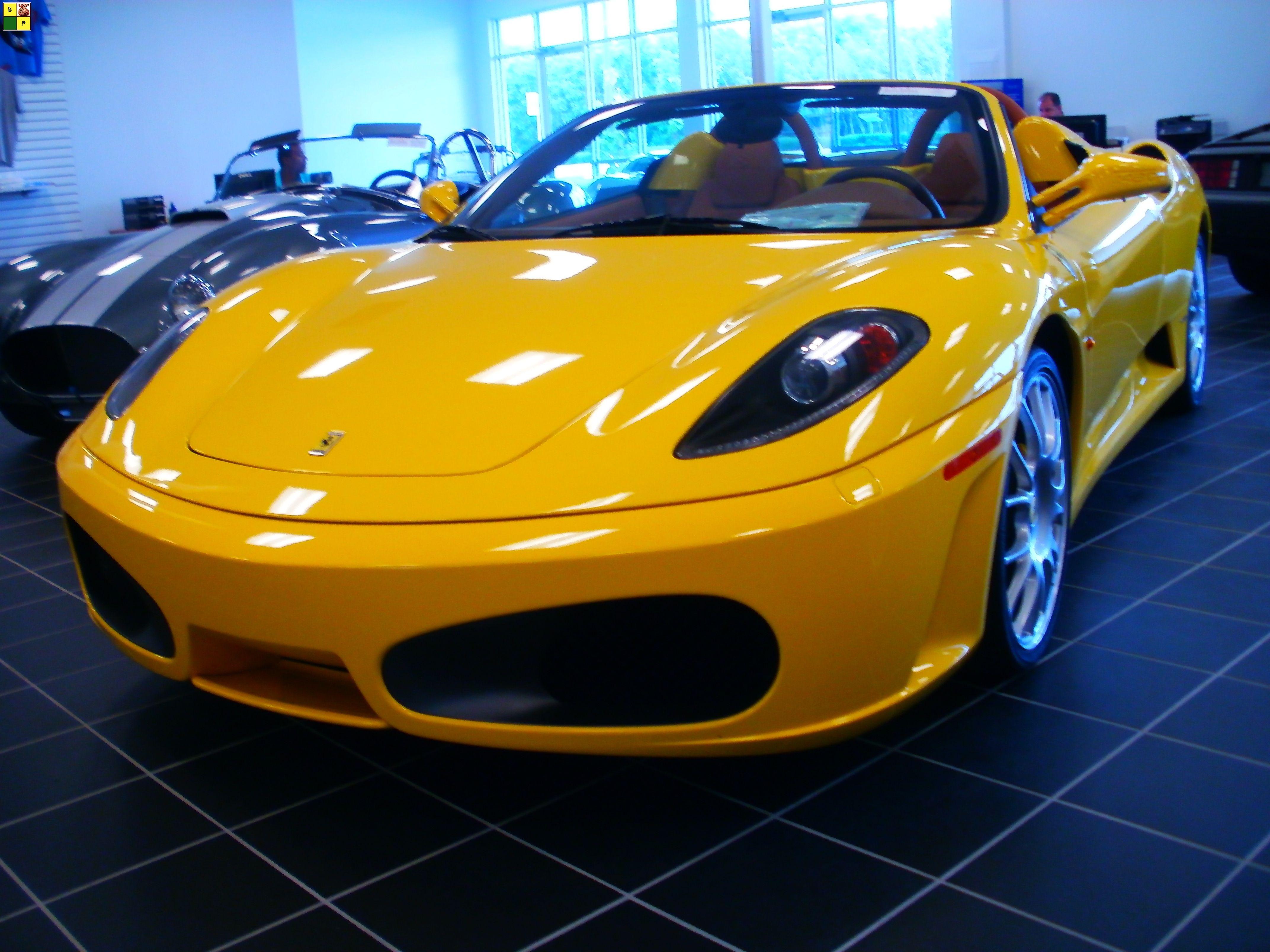 2008 Ferrari F430 F1 Spider Convertible Copyright C 2012