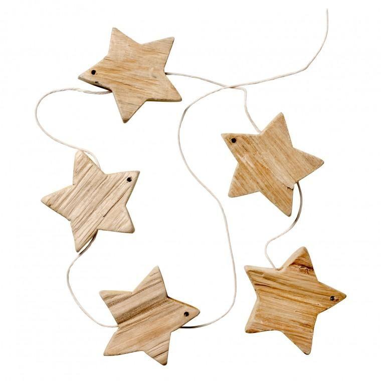 Driftwood Star Garland, Idyll Home