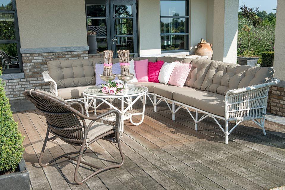 Rieten Balkon Meubels : Pin van karin sanders op tuin meubels rotan meubels