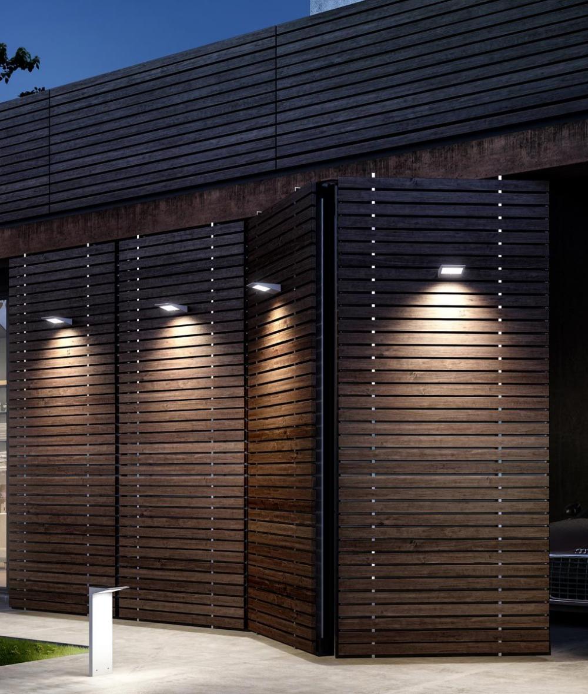 Aplique Solar Con Sensor Movimiento Yeti Led La Casa De La Lampara En 2020 Led Pared Exterior Apliques De Pared