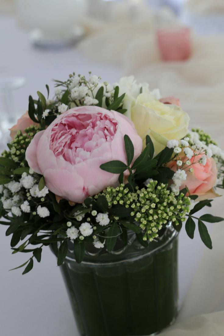 Schone Tischdeko Bei Einer Hochzeit Blumen Hochzeit Tischdeko