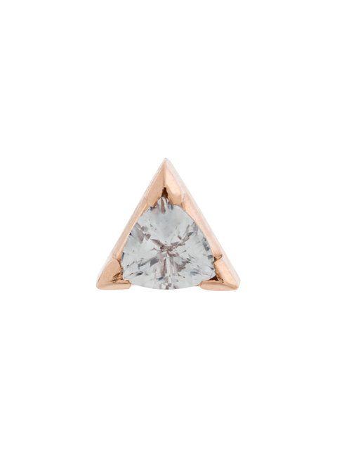 14kt gold Diamond Cut Trillion earring - Metallic Maria Black uPpLpfDg2a