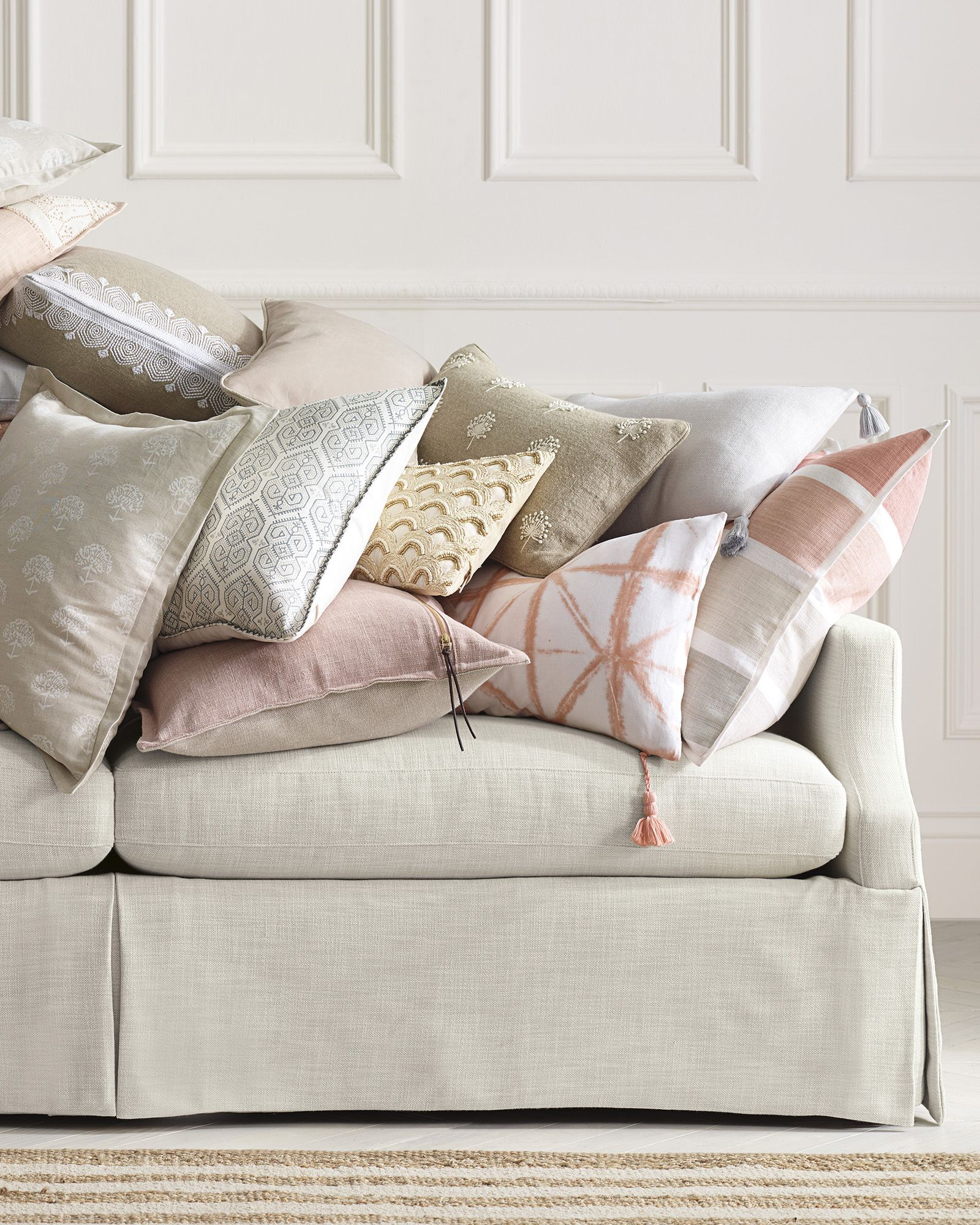 Sienna Small Tile Pillow Cover | Throw
