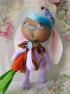 "Nostalgie Fantasy Teddy Hase "" Sweet little Baby´s "" Landhaus/ Shabby-Art, Ooak"