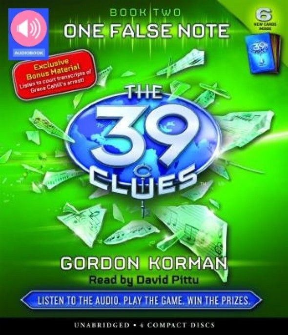 39 clues audiobook book 6