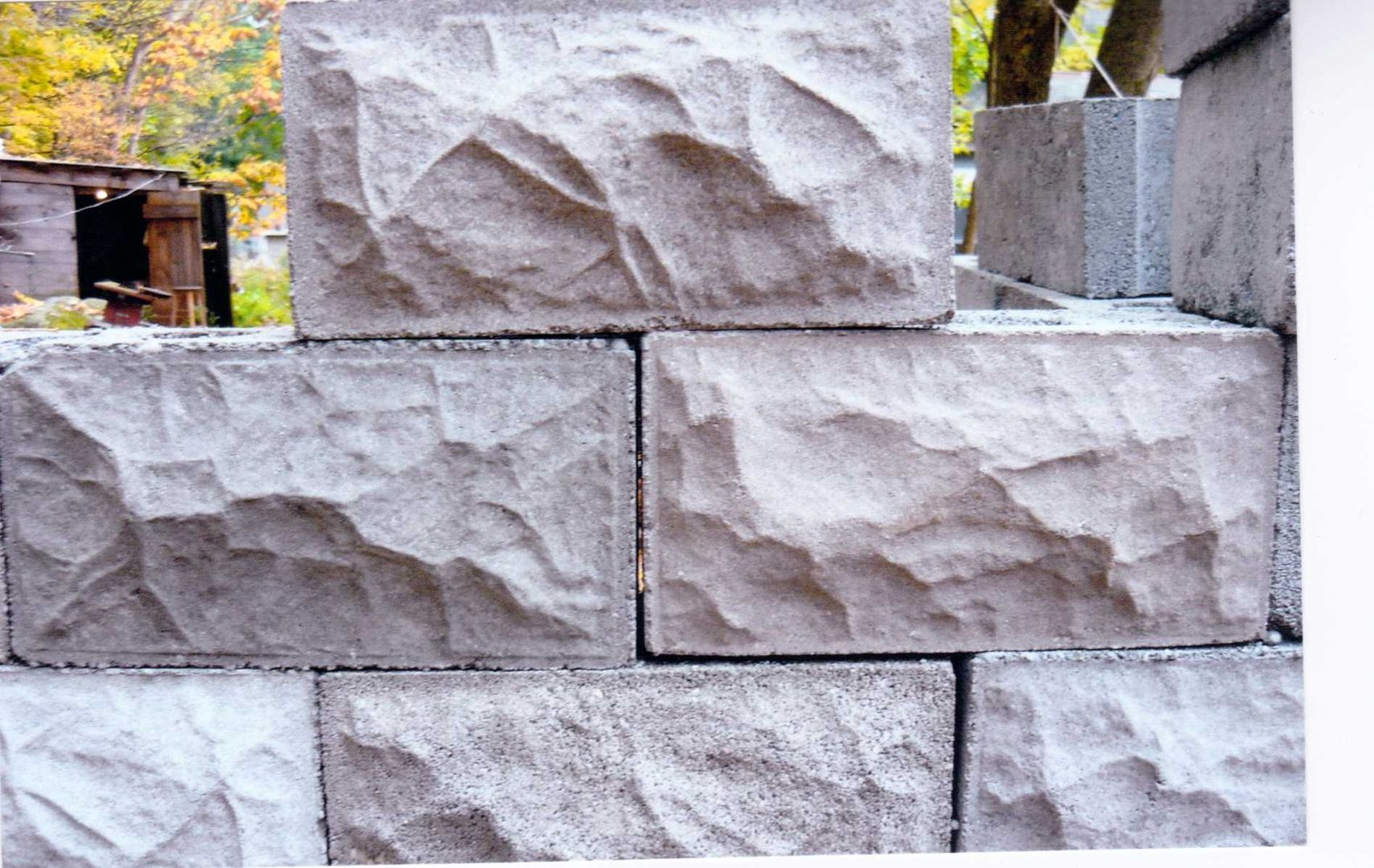 Historic Rock Face Block Decorative Concrete Block Rock