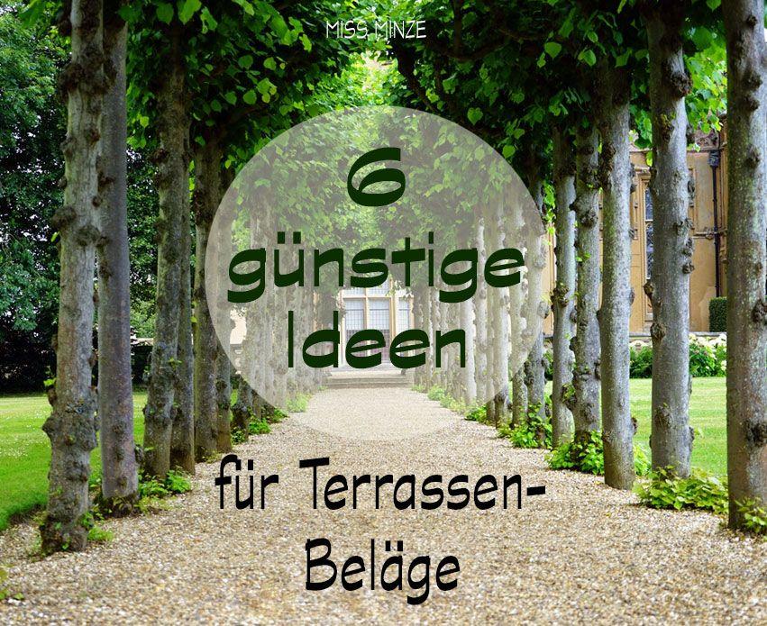 Günstige Terrassen: 6 Ideen von simpel bis schwierig   Terrasse ...