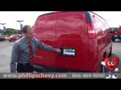 Phillips Chevrolet 2014 Chevy Express Cargo Van Walkaround Chicago New Car Dealership Youtube Chevy Express 2014 Chevy Cargo Van
