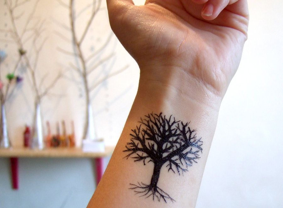 70 Nice Tree Tattoos Wrist Tattoos For Guys Wrist Tree Tattoo Wrist Tattoos For Women