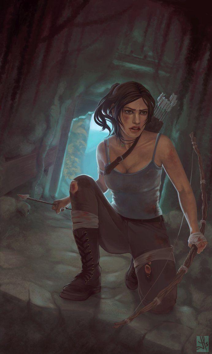 Pin by Peyton Pellerin on Lara Croft ♠️   Tomb raider art