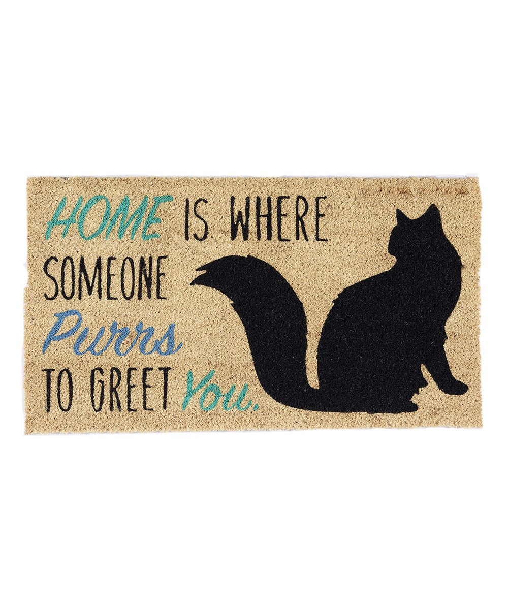 Home Cat Doormat | Cats, Home and Doormats