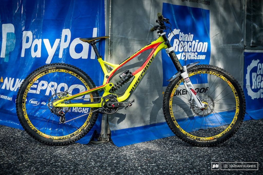 Tech From The Pits Vallnord Dh World Cup 2016 Bike Mtb Bicycle