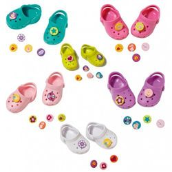 BABY Born Doll Clogs With Pins