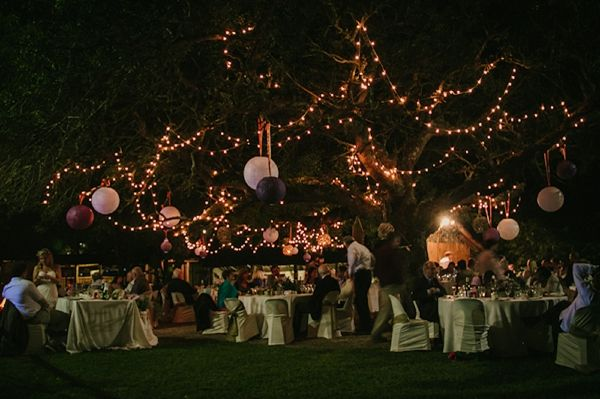 Fairy Lights Outdoor Wedding Knotjustpicscoza