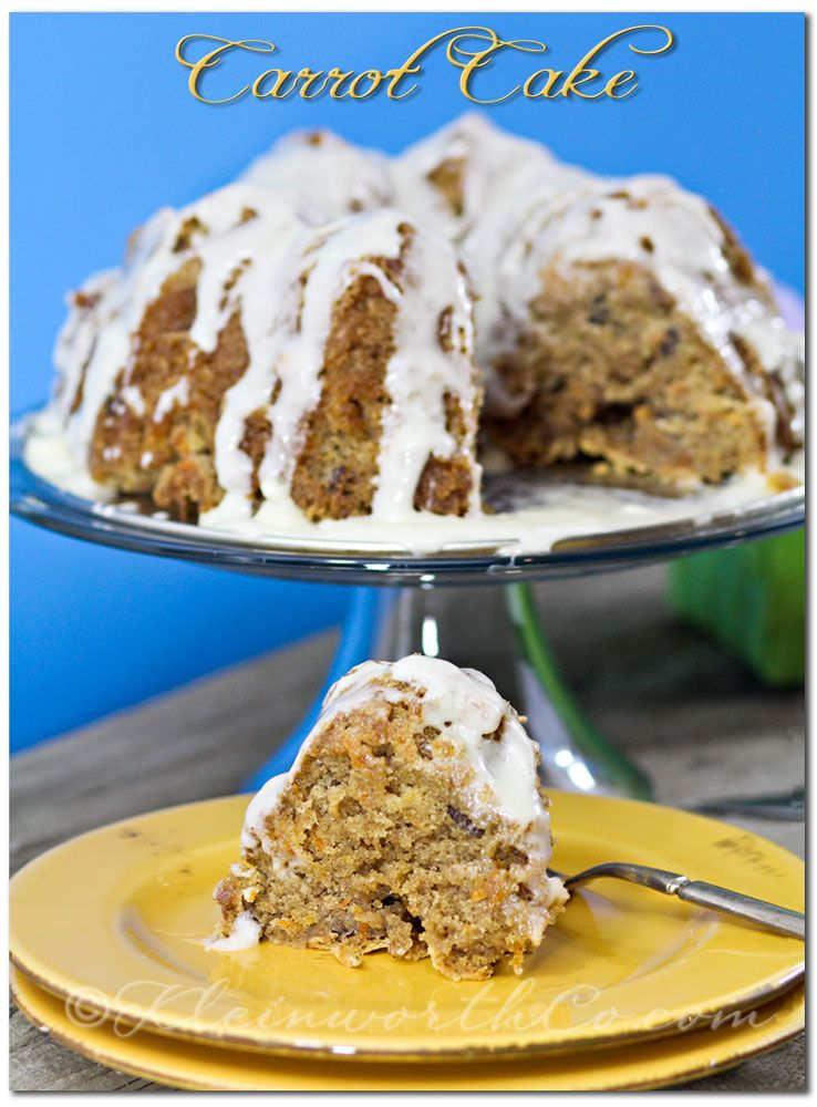 Carrot cake recipe just in time for easter cake