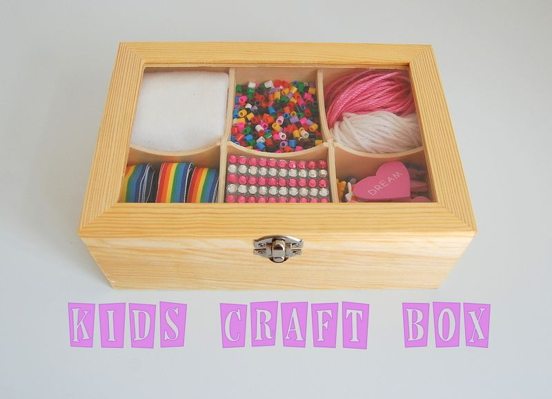 kids craft box ideas