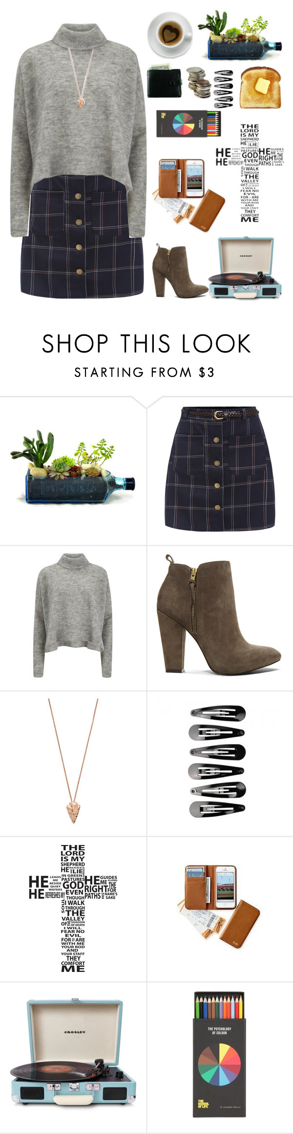 """20 days till Christmas! ⛄"" by genesis129 ❤ liked on Polyvore featuring Designers Remix, Steve Madden, Pamela Love, Crosley, Christmas, mountains and countdown"