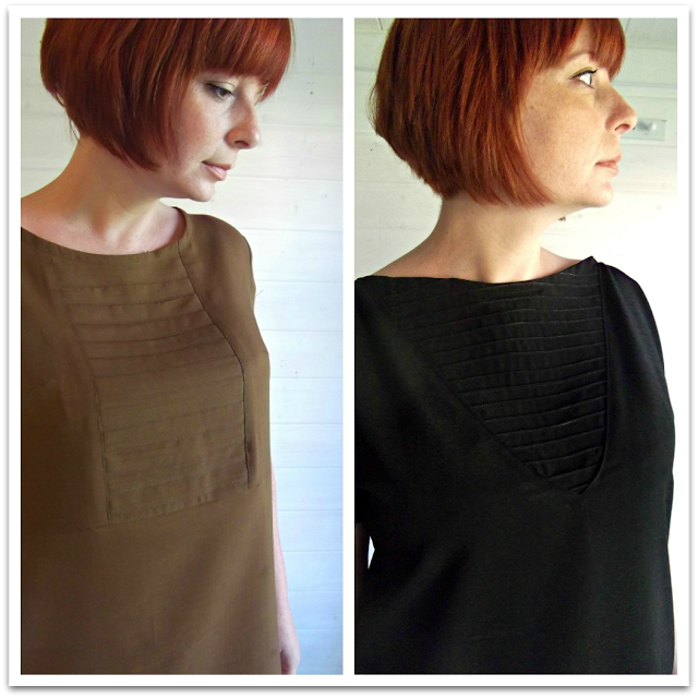 Miss P: Dressmaking. Adding a panel to a front bodice.