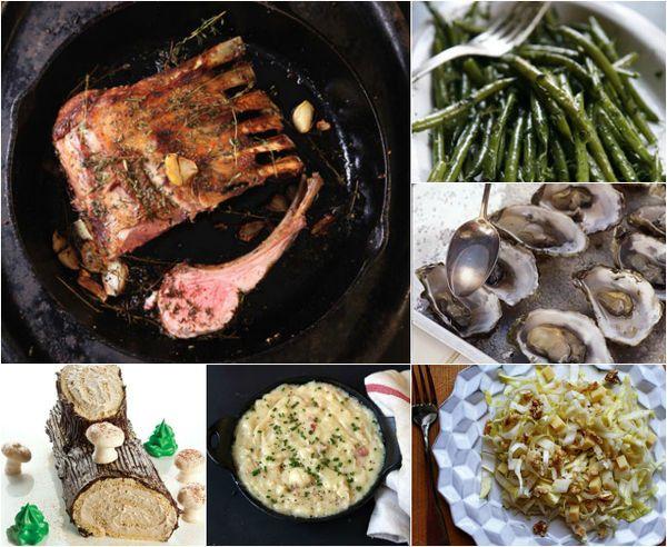 Menu a french christmas french christmas menu and food menu a french christmas forumfinder Choice Image