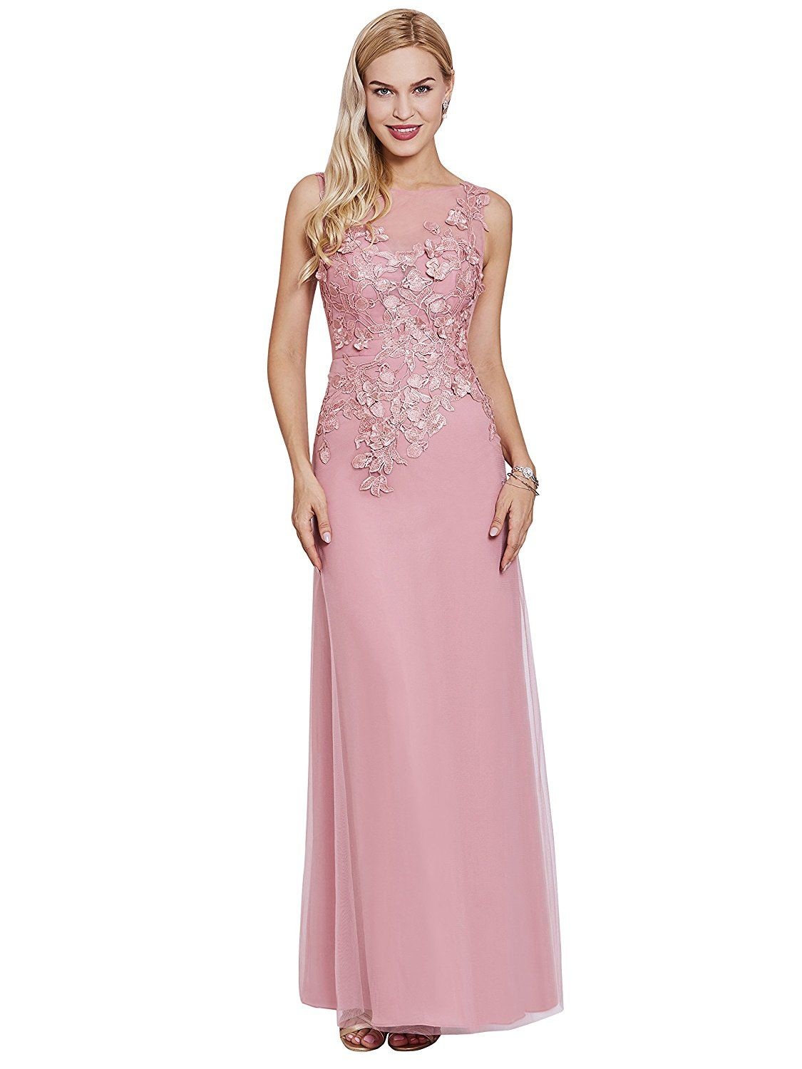 Sisjuly Women S Scoop Neack Appliques Prom Gown Tulle A Line Evening