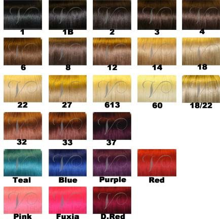 Vision select hair extensions color chart hair extensions vision select hair extensions color chart pmusecretfo Images