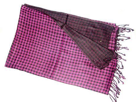 viscose man self scarf