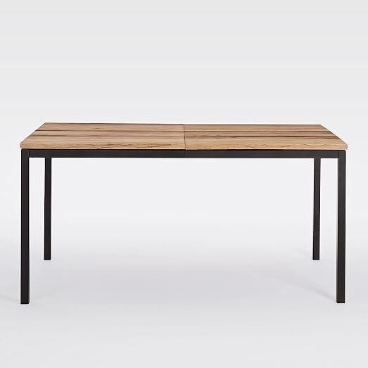 West Elm Mango Wood Box Frame Expandable Dining Table 899 Special Price Mango Wood Chairs Expandable Dining Table Small Kitchen Tables