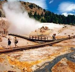 Thermal features at Lassen Volcanic National Park, #California