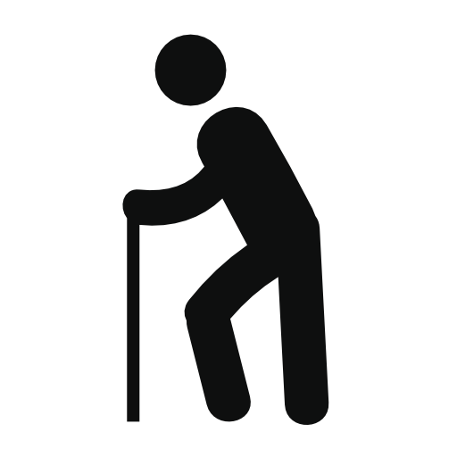 Old Man Walking Free Vector Icons Designed By Freepik Free Icons Vector Free Vector Icon Design