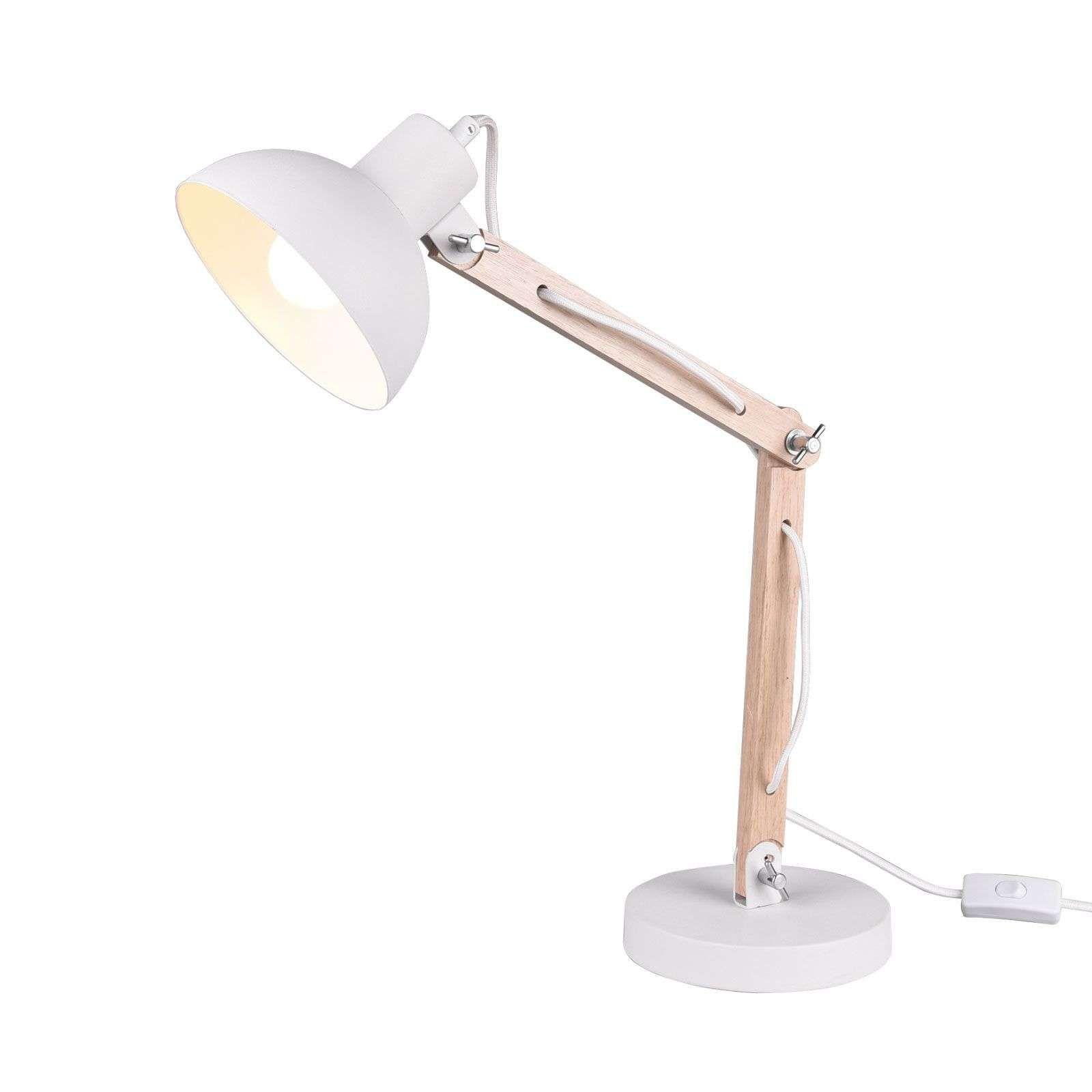 Tischleuchte Kimi Weiss En 2020 Lampe A Poser Luminaire Lamp
