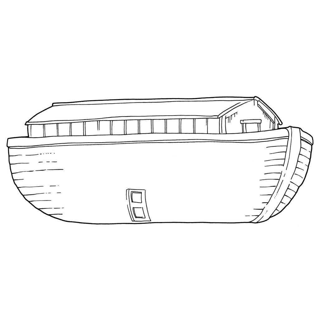 picture regarding Noah's Ark Printable called Printable Noahs Ark Template Noahs Ark MyChurchToolbox