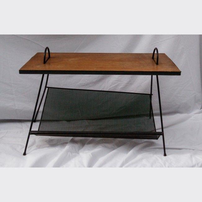 Table Basse Porte Revue Vintage Table Basse Table Meubler Table Basse Mobilier De Salon Deco Vintage
