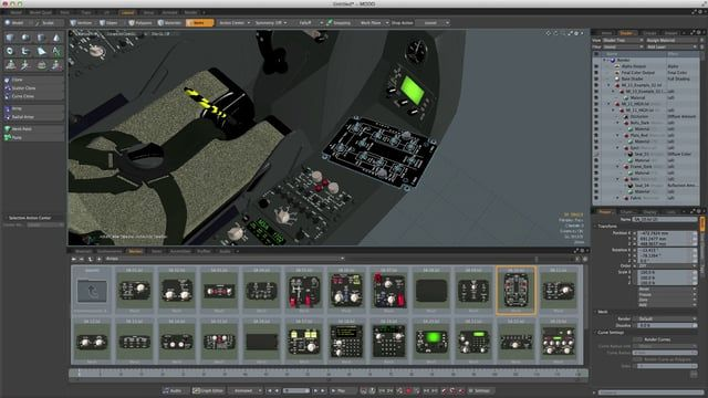 MODO Creative 3D Modeling Software | The Foundry | 3D