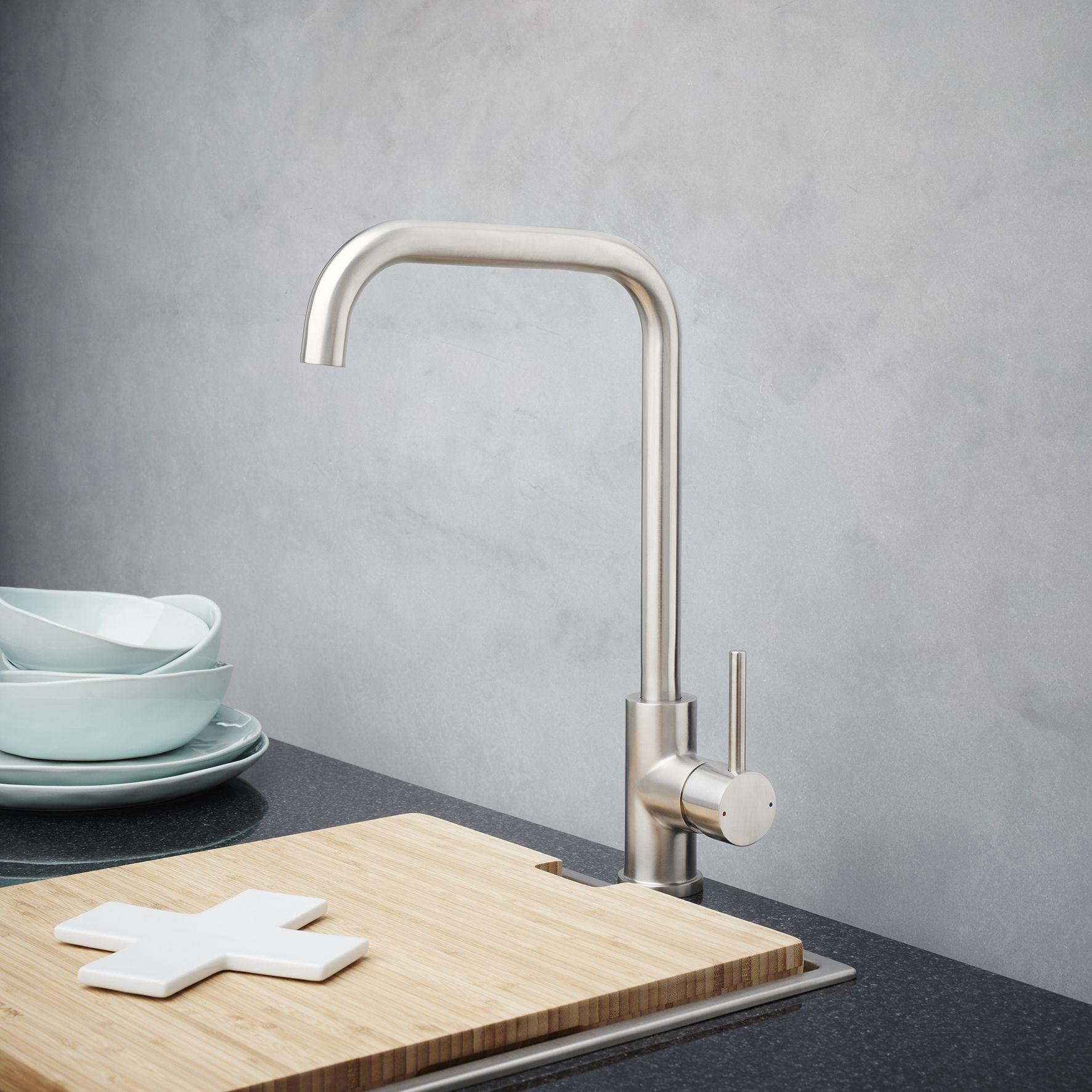 Dorf Maximus Stainless Steel Sink Mixer #Dorf #DorfStyle #KitchenTap ...