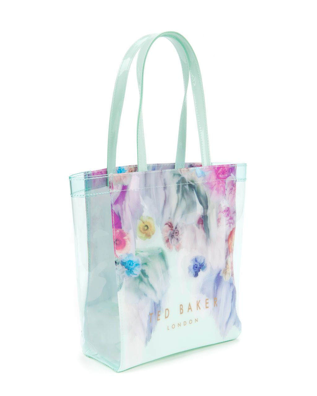Ted Baker Sweecon Sugar Sweet Floral Small Shopper Bag In Pale