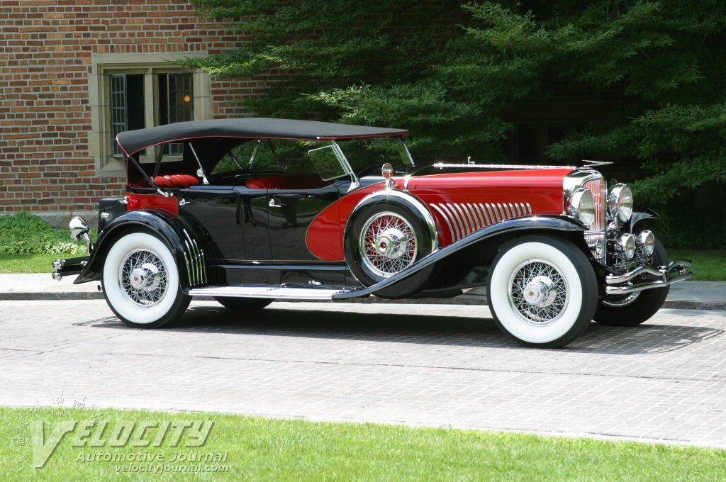 Duesenberg Model J 1929 Duesenberg Model J Dual Cowl Phaeton