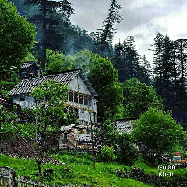 Weather Forecast Islamabad: Beautiful Cloudy Weather In Neelum Valley, Azad Kashmir