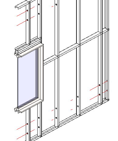 framing revit walls with steel studs plates metal framing wall agacad tools4bim